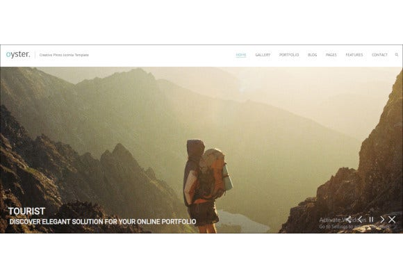 best photography joomla template