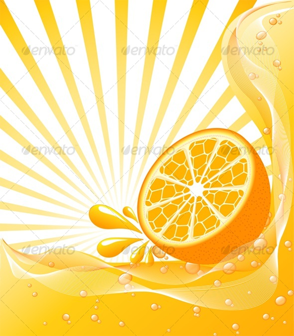 best sun shade orange background