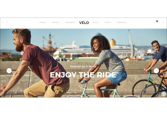 bike store responsive virtuemart template