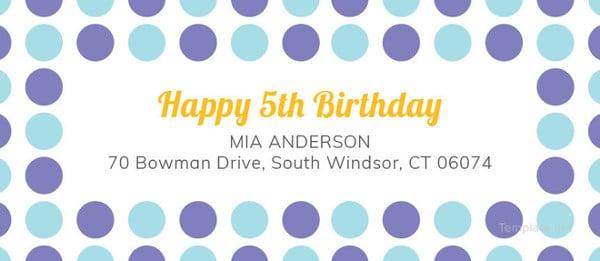 birthday-address-label-template
