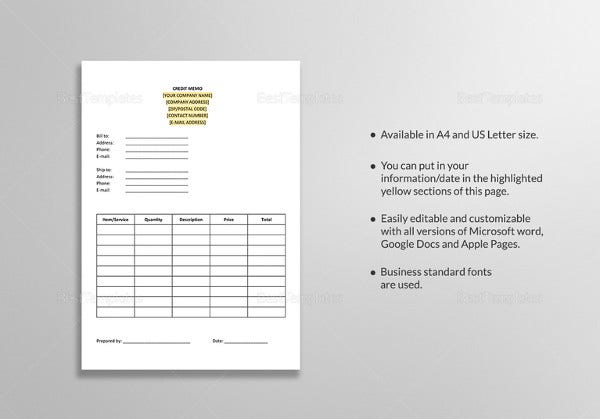Internal Memo Template - 23+ Word, PDF, Google Docs Documents Download