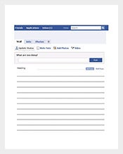 Blank-Facebook-Template-for-Word