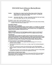 Meeting Minutes Template – 36+ Free Word, Excel, PDF Format ...