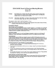 Board-of-Directors-Meeting-Minutes-Sample