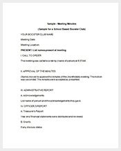 Booster-Club-Meeting-Minutes-Template
