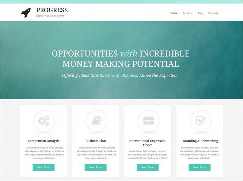 build grow startup wordpress theme 788x589