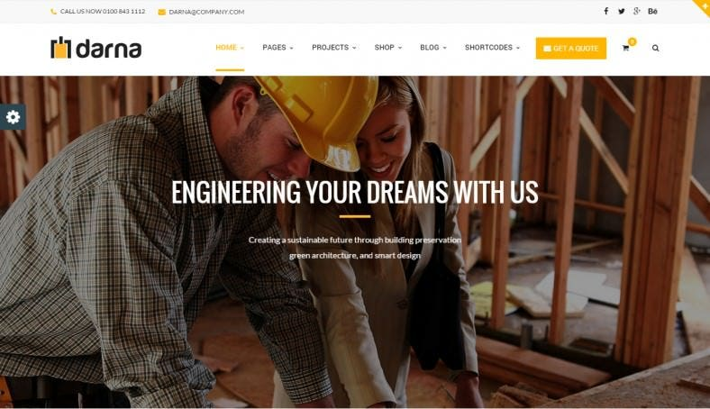 Building & Construction Business WordPress Theme