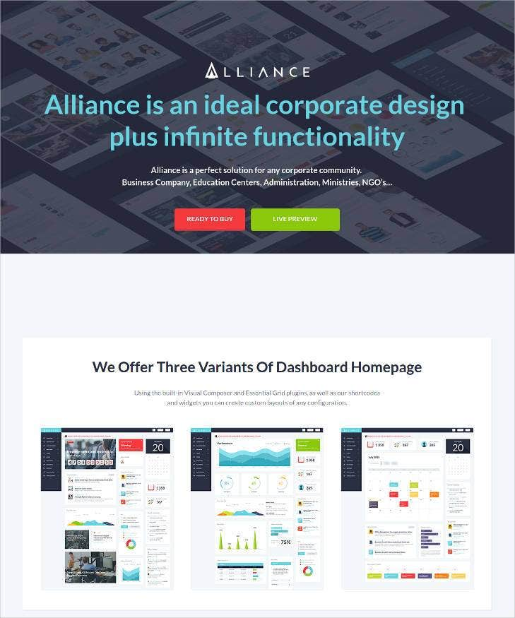 51 business bootstrap themes templates free premium for Bootstrap intranet template
