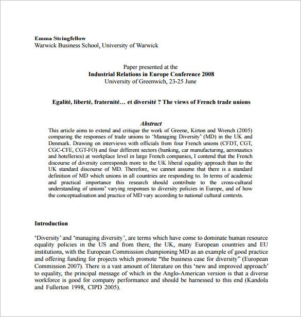 business dissertation proposal template