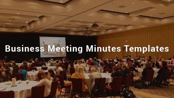 business meeting minutes templates