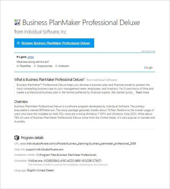 business planmaker professional deluxe software
