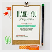 Thank You Cards Free Printable PSD EPS Word PDF - Business thank you card template