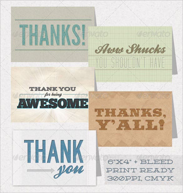 business thank you cards professionalpack