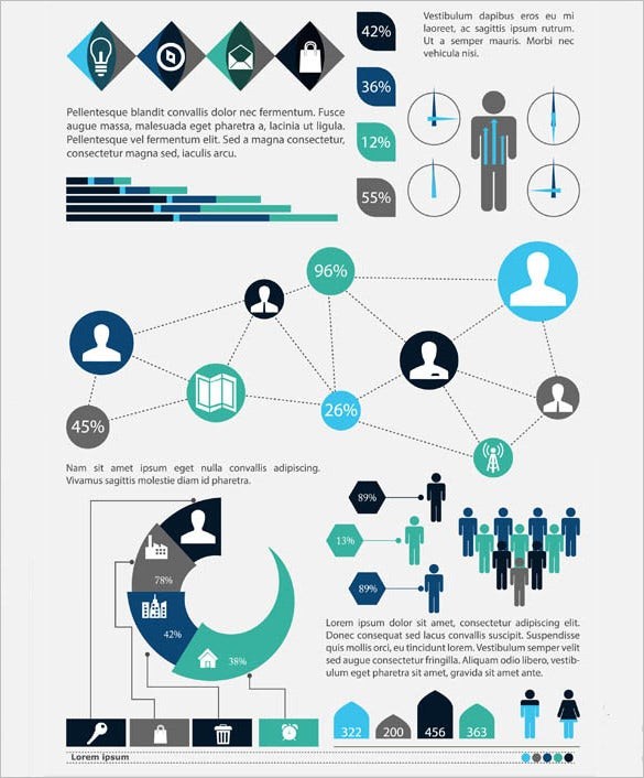 business vector infographic free download