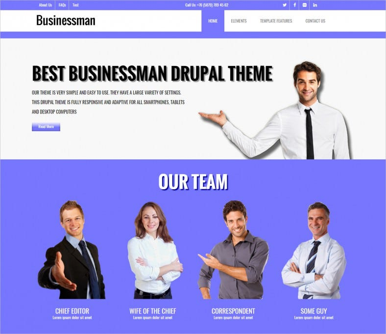 businessman corporate drupal theme 788x683