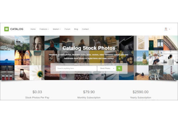 buy sell marketplace responsive site template