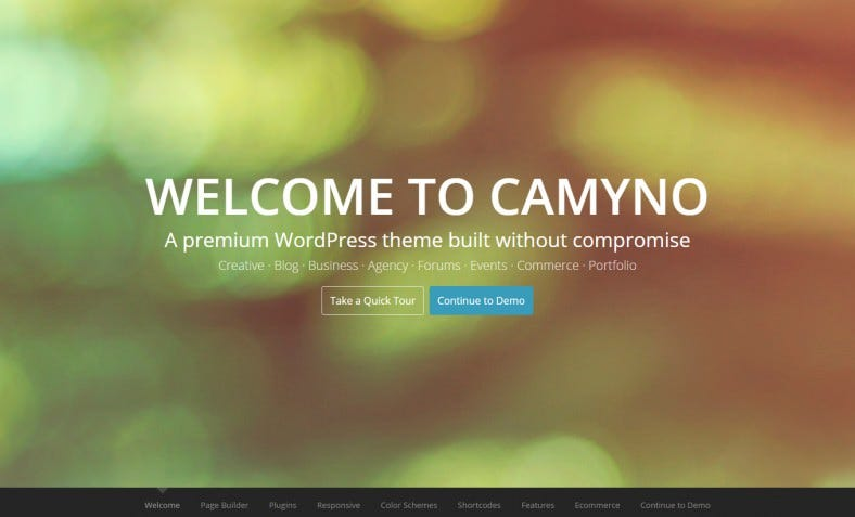camyno premium wordpress theme 788x477