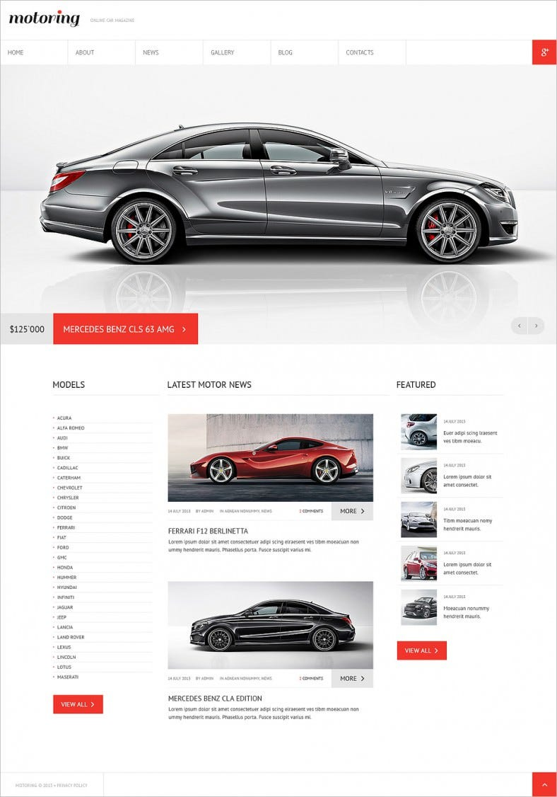 car club responsive joomla template 788x1126