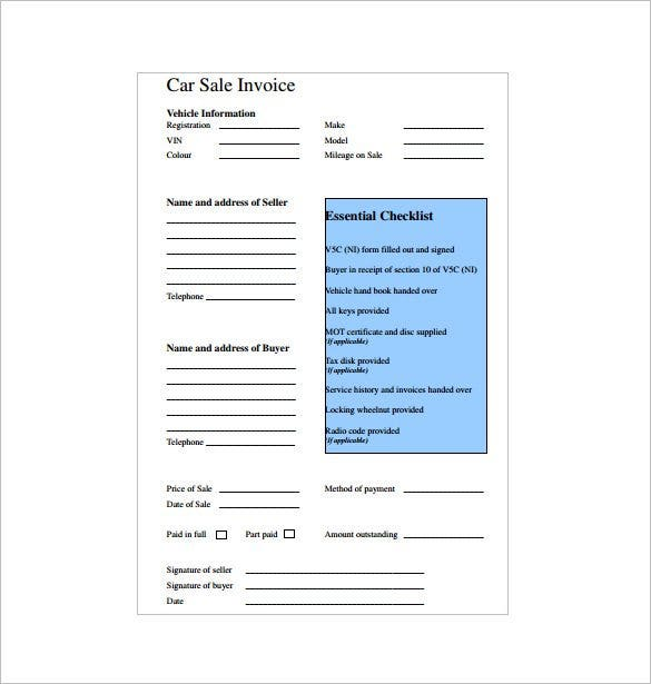Invoice Receipt Template   Free Sample Example Format Download