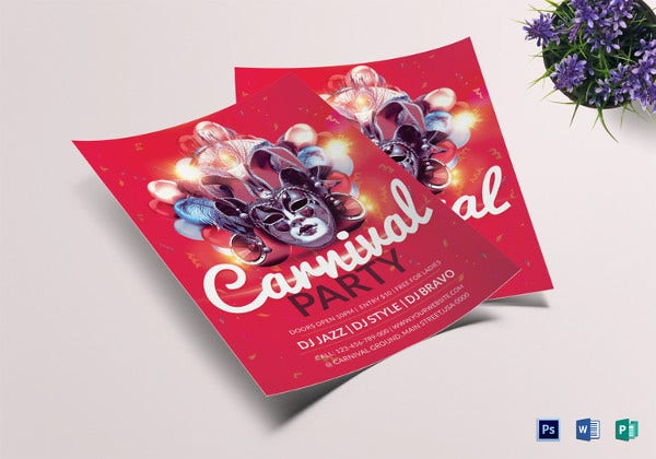 carnival-party-flyer-template