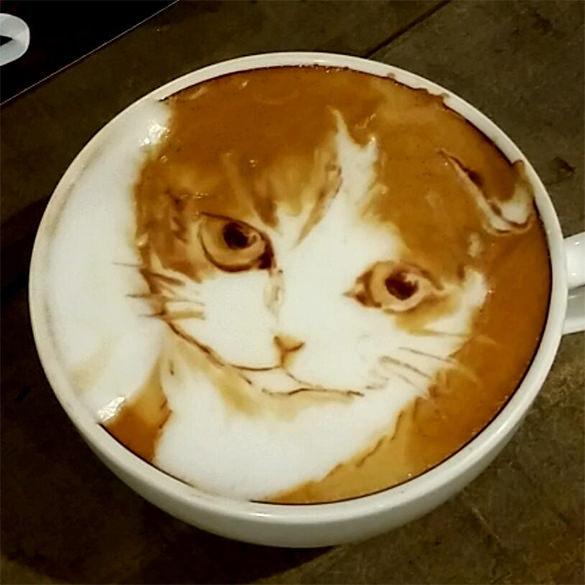 catr coffee art