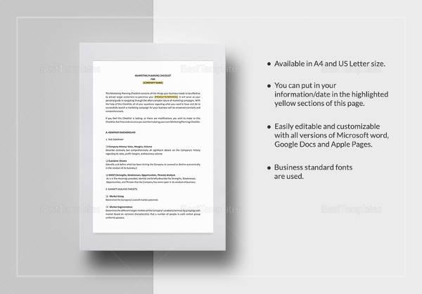checklist-for-market-planning-template