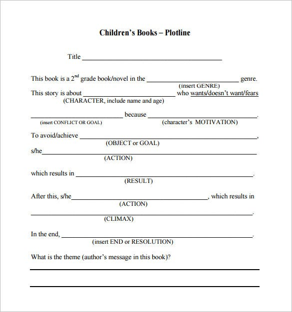 childrens book proposal pdf download