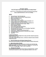 Church-Business-Meeting-Minutes-Template