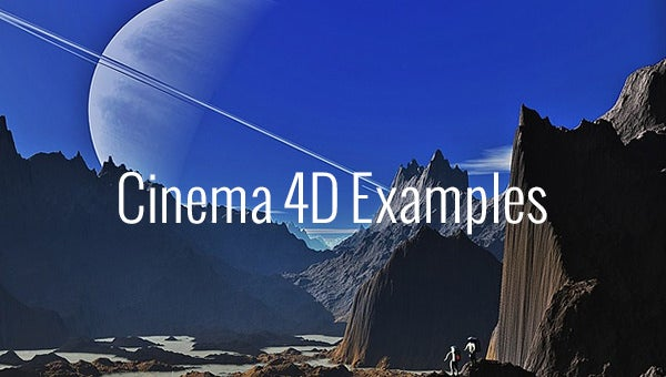 21+ Best Cinema 4D Examples you Need to Know! | Free