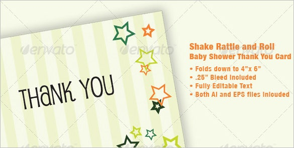 Clean U0026 Modern Business Thank You Card  Business Thank You Card Template