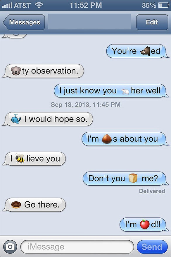 clever these two chat emoji