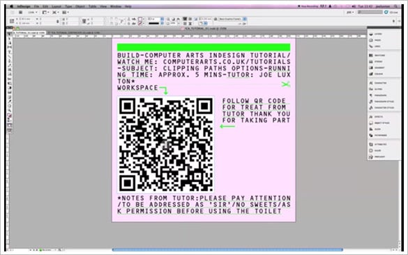 25+ Great Examples of InDesign In Use - Tutorials | Free