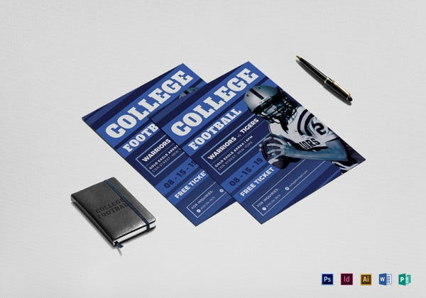 college-football-flyer-template