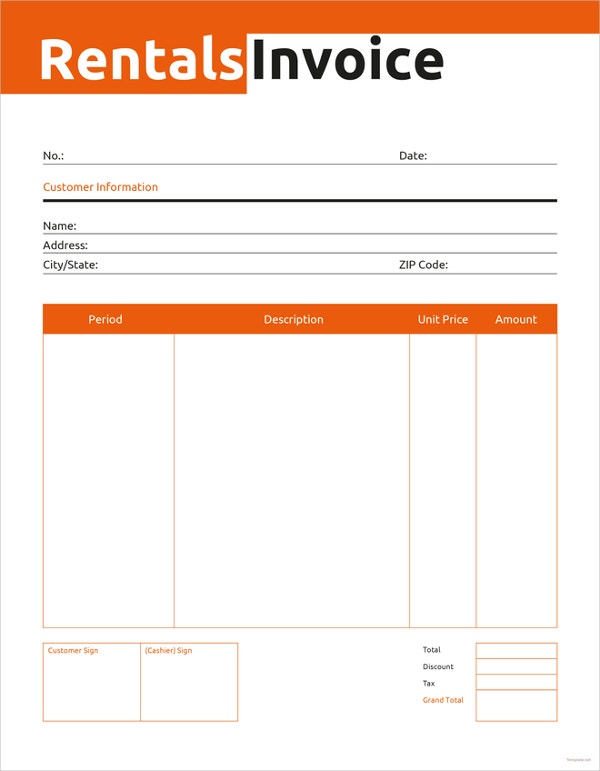 commercial-rental-invoice-template