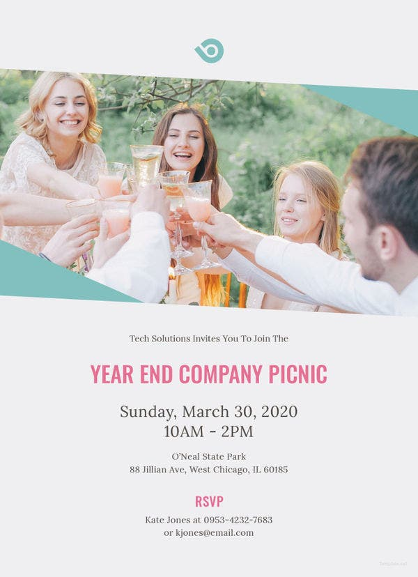 company-picnic-invitation-template