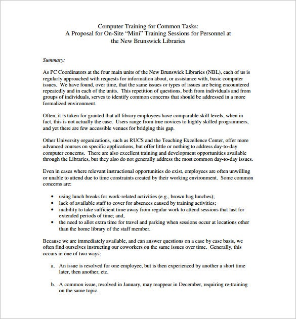 computer training proposal pdf download1