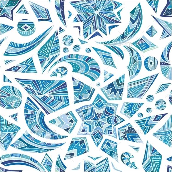 conceptual christmas geometric pattern