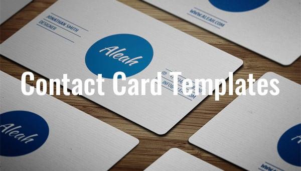 contactcardtemplate