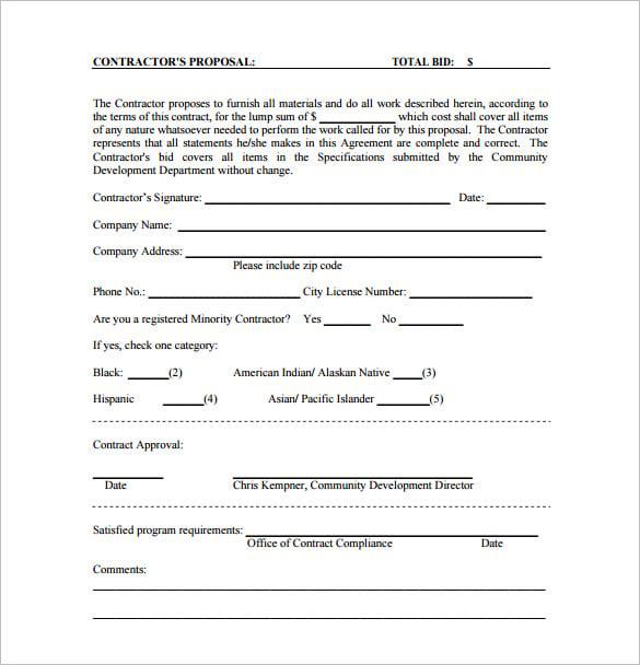 bid proposal - solarfm.tk