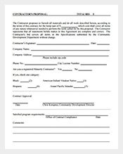 proposal template 231 free word excel pdf format download