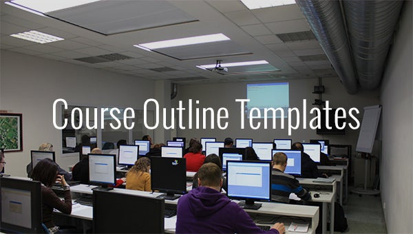 course outline templates