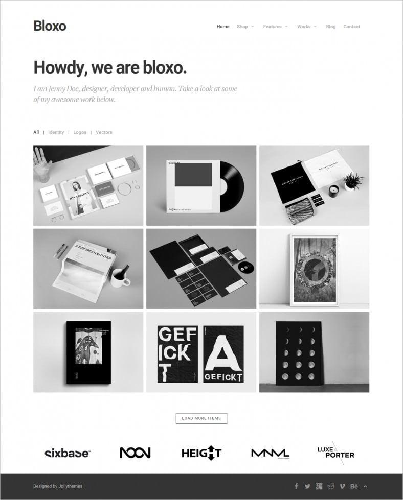 creative agency html5 website template 788x979