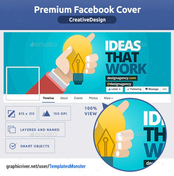 Facebook Psd Template 8 Free Samples Examples Format Download