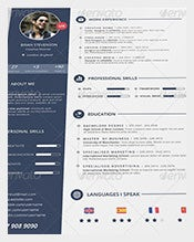 creative director psd resume - Free Resume Templates