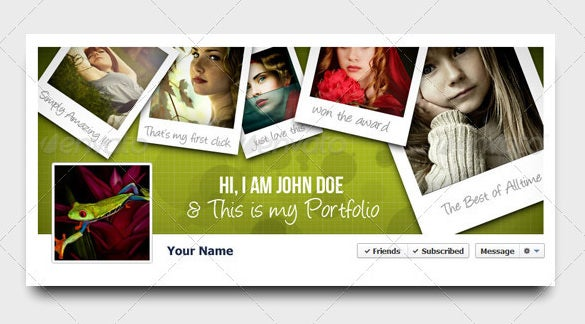 creative facebook timeline cover template psd photoshop 2