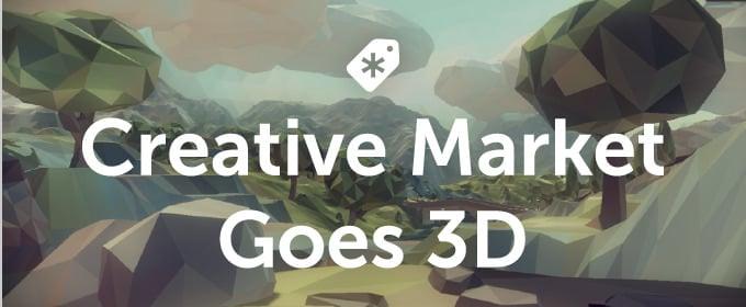 Creative Market 3d Designs