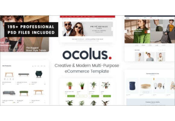 creative modern multi purpose ecommerce psd template
