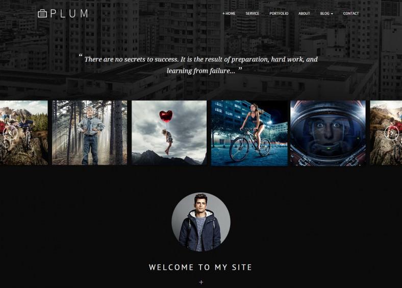 Creative Portfolio Gallery HTML Template