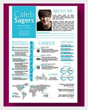 Custom-Infographic-Resume-Designs