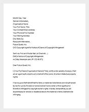 dmca notice complaint letter template2